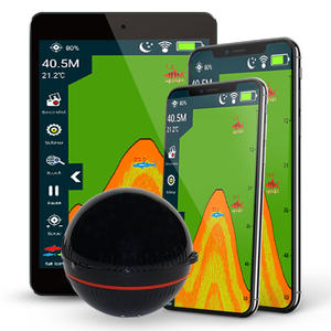 Erchang Wireless Sonar Fish-Finder Depth-Lake Attracting Professional Portable with 48m/160ft