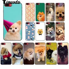 Yinuoda Pomeranian dogs dog Black TPU Soft Silicone Phone Cover for Apple iPhone 8 7 6 6S Plus X XS MAX 5 5S SE XR Mobile Cover lavaza ybn nahmir soft case for apple iphone 6 6s 7 8 plus 5 5s se x xs max xr tpu cover