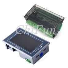 Samkoon EA-043A HMI Сенсорный экран 4,3 дюймов+ FX3U серия ПЛК промышленная плата управления с DB9 линия связи