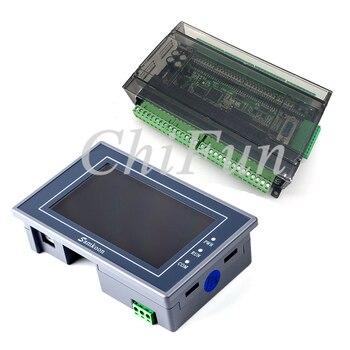 Samkoon EA-043A HMI Touch Screen 4.3 inch + FX3U series PLC industrial control board with DB9 Communication line 1
