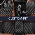 ЛУНДА Custom fit автомобильные коврики для Ford Edge Побег Проводник Фокус Fiesta Fusion Mondeo Kuga Ecosport стайлинга автомобилей ковер лайнер