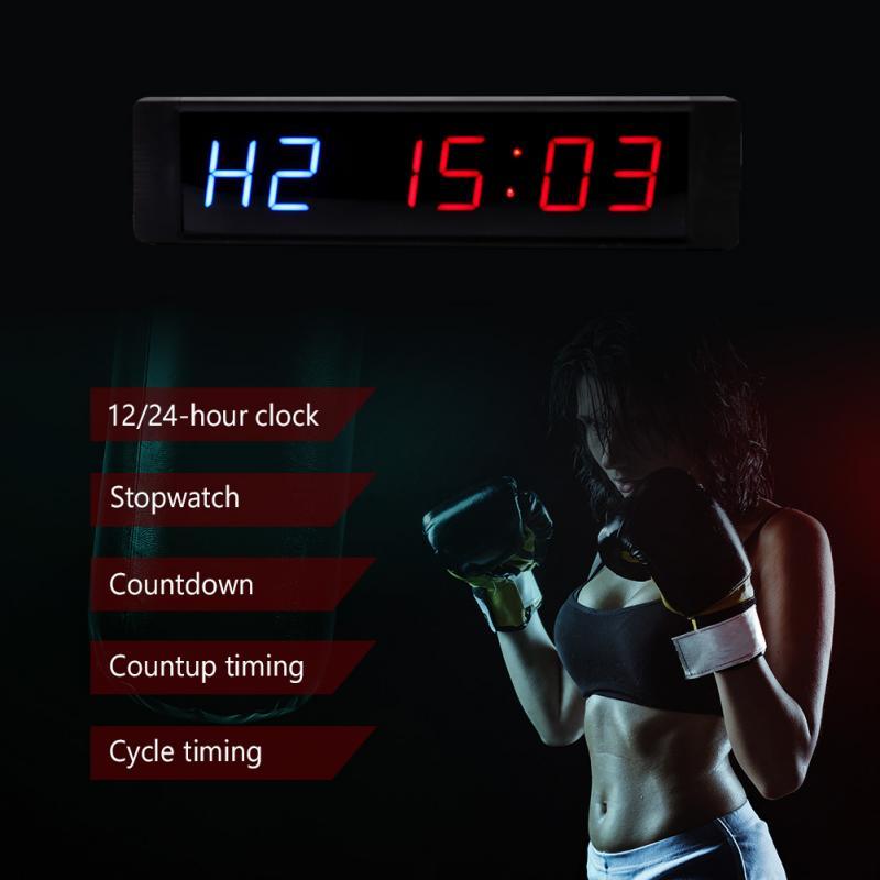 Do Temporizador De Intervalo de Treinamento para Gym Fitness Formação MMA boxe