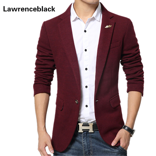 Aliexpress.com : Buy Design red mens blazer jacket coats casual ...