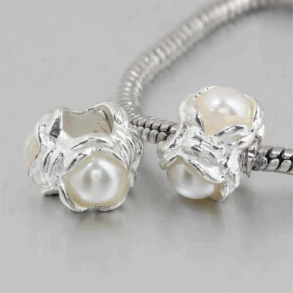 Freies verschiffen 1 stück perle große loch Perle charme Passend Europäischen Charm Armbänder & Halsketten A132 (3)
