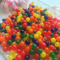5kgs/lot Perle Geformt Weichen Kristall Boden Wachsen Magische Gelee Ball Hydrogel Wasserperlen Pflanze Blume Pflegen Schlamm Hause Decor