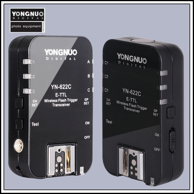 Yongnuo YN-622C YN 622 Wireless ETTL HSS 1/8000S Flash Trigger 2 Transceivers for Canon 1100D 1000D 650D 600D 550D 7D 5DII 40D yongnuo yn 622c yn 622 wireless ettl hss 1 8000s flash trigger 2 transceivers for canon 1100d 1000d 650d 600d 550d 7d 5dii 40d