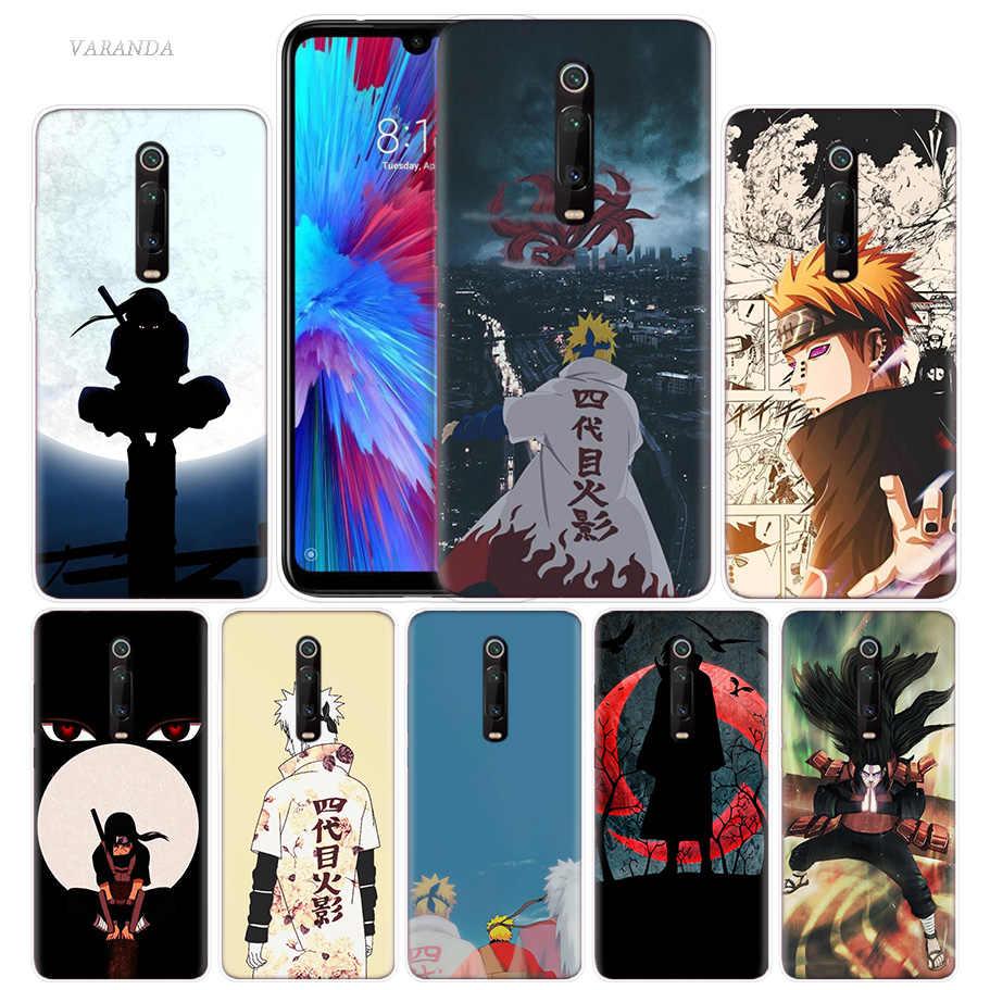 Anime Naruto Dành Cho Tiểu Mi Đỏ Mi Note 7 8T 7S K20 8A S2 6 6A 7A 5 Pro Mi Chơi 9T A1 A2 8 Lite POCO F1 Ốp Điện Thoại Bỏ Túi