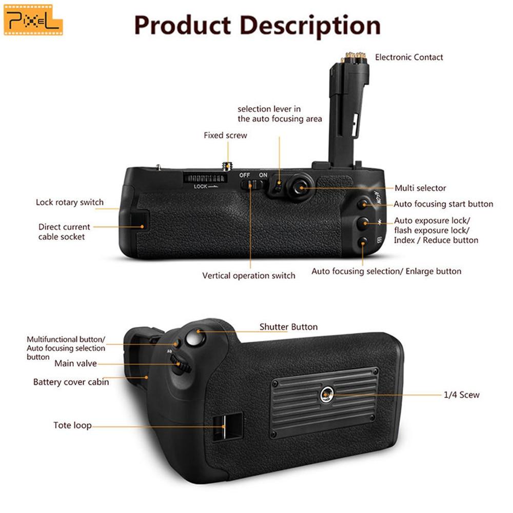 Pixel E20 voor Canon 5D Mark IV / 5D4 / 5D MarkIV Camera - Camera en foto - Foto 2