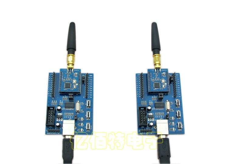 ФОТО 433MHz|CC1110 module, wireless data transmission module, long distance, development, block board, development kit, and the anten