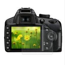 المقسى واقٍ زجاجي لنيكون D3100 D3200 D3300 D3400 D3500 DSLR كاميرا LCD شاشة طبقة رقيقة واقية Diaplay غطاء للحماية