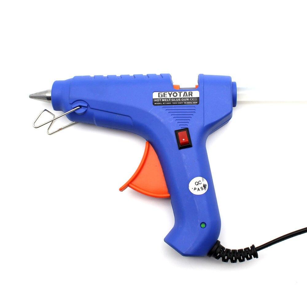40 W UE Wtyczka pistoletu do klejenia na gorąco z bezpłatnym 1szt - Elektronarzędzia - Zdjęcie 6