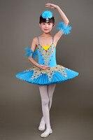 2017 New Kid Professional Swan Lake Ballet Tutu Costume For Children Ballerina Dress Kids Ballet Dress