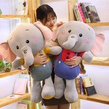 80 см новые игрушки, плюшевые слоны, мягкие куклы для сна, мягкие игрушки для животных, детские игрушки, подарки для детей, подарок