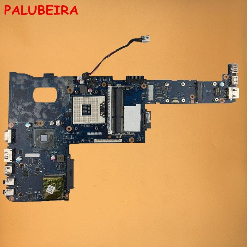 PALUBEIRA 100% рабочая NBQAA LA-6071P U04 K000104150 U05 K000104160 S989 материнская плата для ноутбука Toshiba Satellite M645