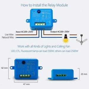 Image 5 - チュウヤスマートライフ無線lanソケット小型モジュールdiyのスマートホームオートメーションgoogleホームエコーalexa音声制御appリモコン