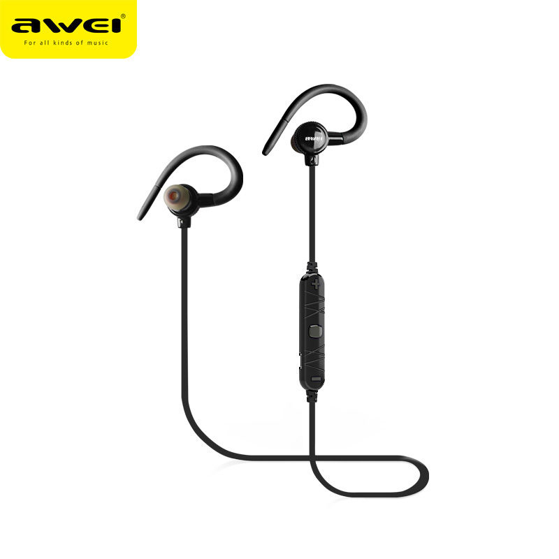 AWEI A620BL In-Ear Wireless Headphones Bluetooth Earphones For Phone With Microphone fone de ouvido ecouteur Ear hook Headset цена 2016