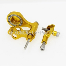 For Yamaha R6 2006-2015 Gold CNC Aluminum Motorcycle Steering Damper Stabilizer Bracket Mounting Support Kits