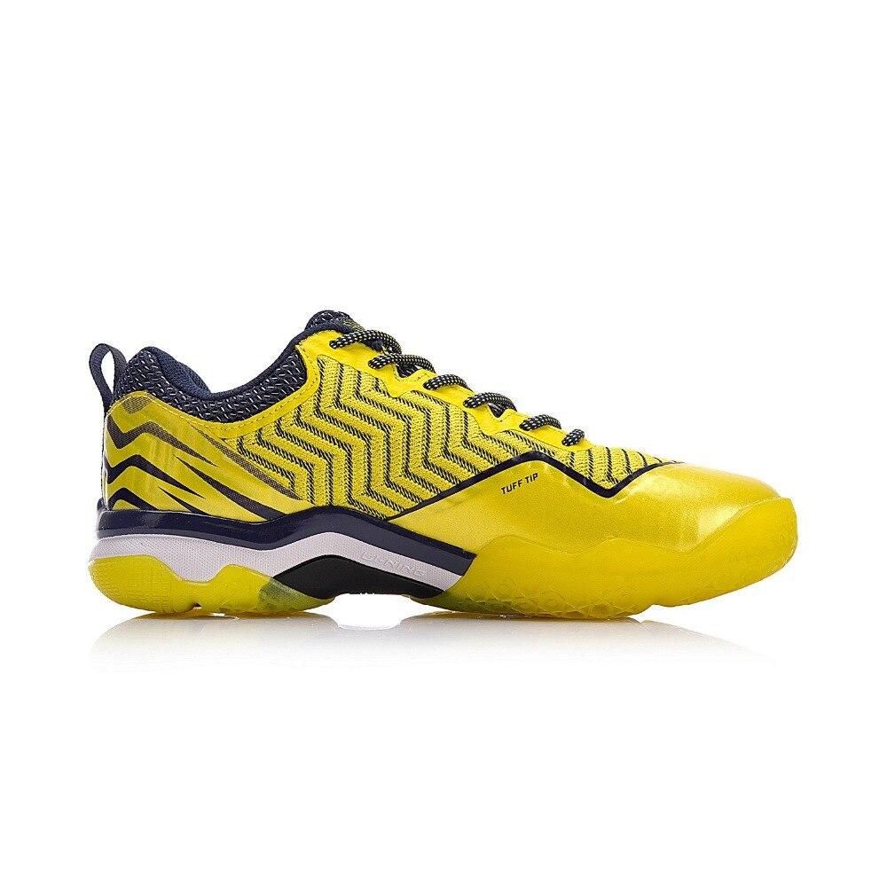 Li-ning hommes SONIC BOOM tricot chaussures de Badminton professionnel LN BOUNSE + doublure de coussin chaussures de Sport portables baskets AYZN011 XYY073 - 4