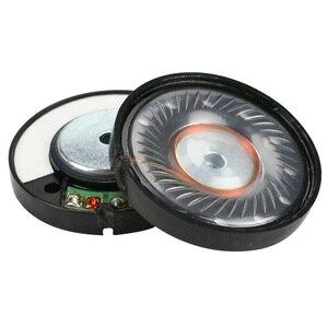 Image 2 - GHXAMP 40mm kulaklık hoparlör ünitesi neodimyum kulaklık sürücüsü 112db HIFI orta bas hoparlörler için onarım parçaları kulaklık 2 adet