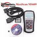 MaxiScan MS609 OBDII/EOBD Сканер Инструмент Диагноз Для кодекс ABS Код MS 609 Поддержка мультибрендовый автомобиль