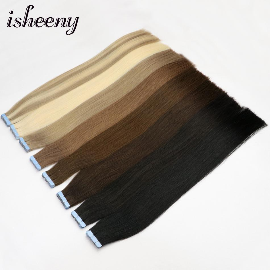 Isheeny Tape In Human Hair Remy 16