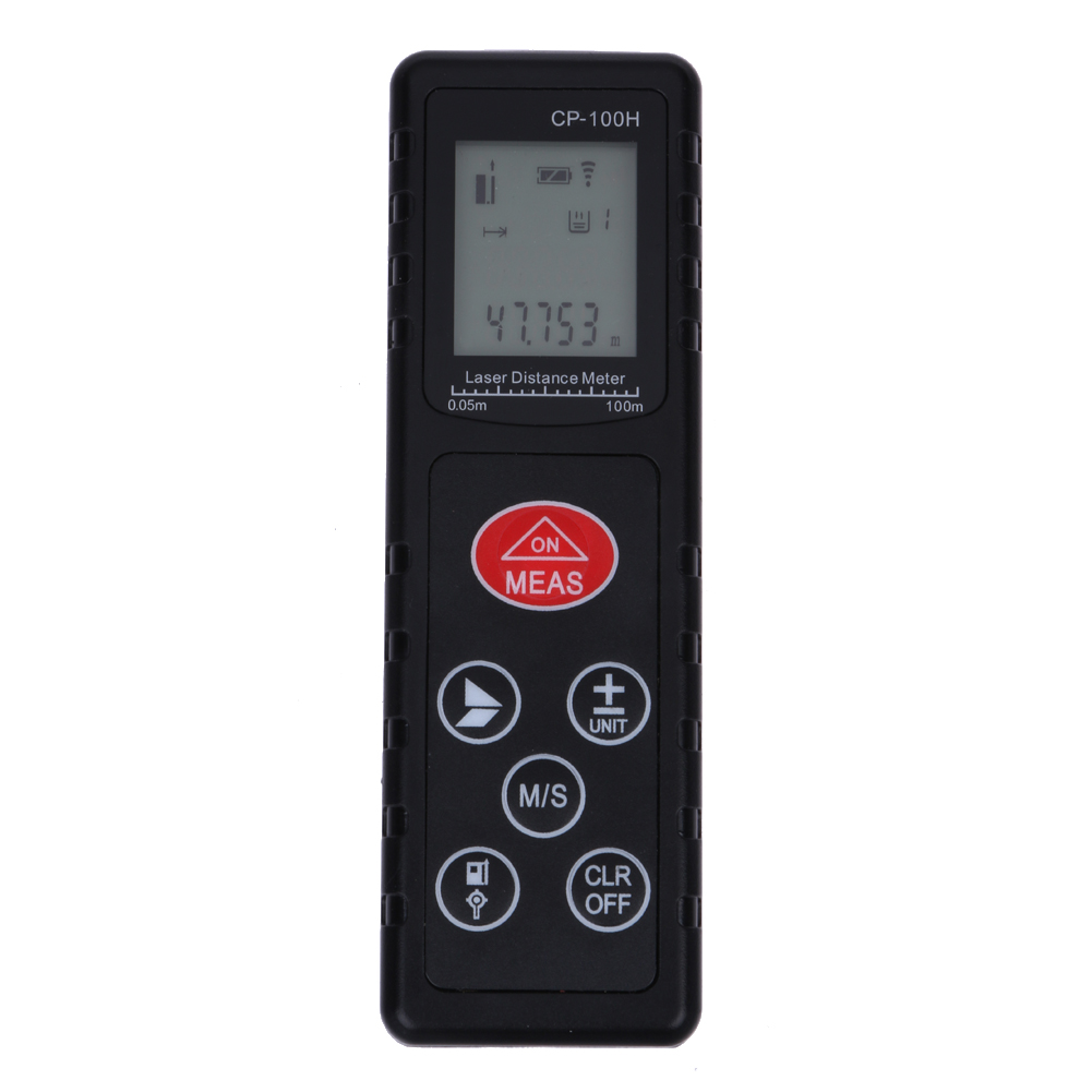 CP-100H Mini 100M Digital Laser Rangefinder Handheld Distance Meter Range Finder Diastimeter For Construction Industries MFBS  цены