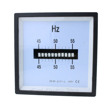 SQ-96-HZ CP-96 DE-96 AC 45-55 Hz 45-65 Hz 55-65 Hz 110V 220V 380V 415V 440V Vibrating Spring Frequency Meter new arrivals ac 96 hz 380v ampere pointer diagnostic tool tester cymometer frequency portable counter swr meter hertz china