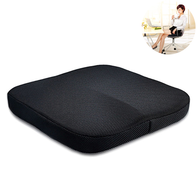 Travel Breathable Seat Cushion Coccyx Orthopedic Memory Foam Seat Massage Chair  Cushion Pad For Car Office