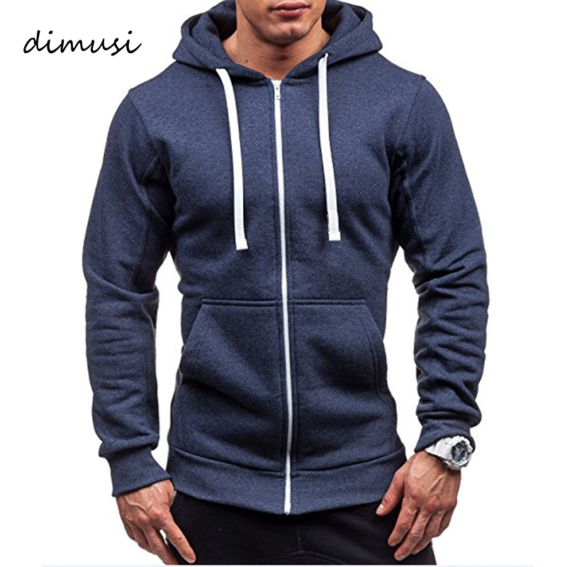 DIMUSI Mens Hoodies Fashion Mens Solid Color Sweatshirt Slim Jackets Mens Hoodie Hip Hop Hoodies Sportswear Tracksuit Clothing