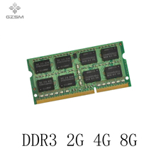 GZSM Laptop Memory DDR3 2G 4G 8G Memory Cards 1066MHz 1333MHz 1600MHz Memory RAM 204pin цена