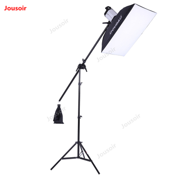 Studio Flash Set 250W Ceiling Light stand softbox lamp holder suit lighting package Photography kit Equipment CD50 T10