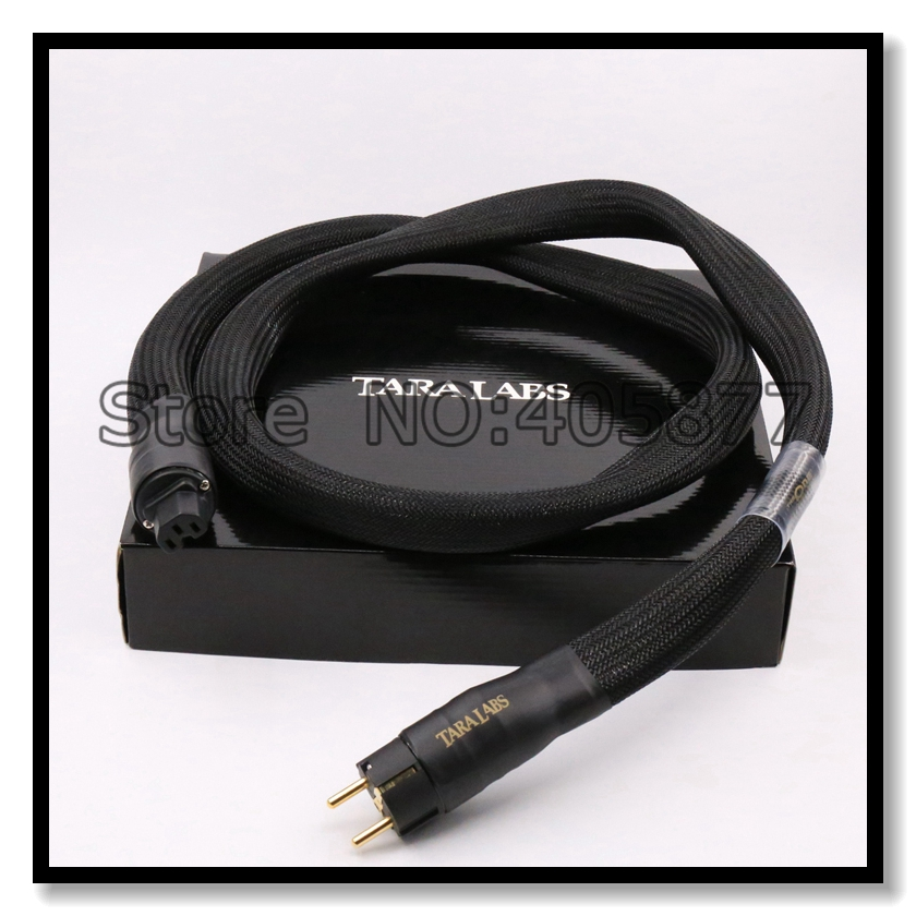 TARA LABS  The One AC Power Cable Audiophile Schuko AC Power Cord Cable HIFI 1.8M Audio Power hifi cable with original box