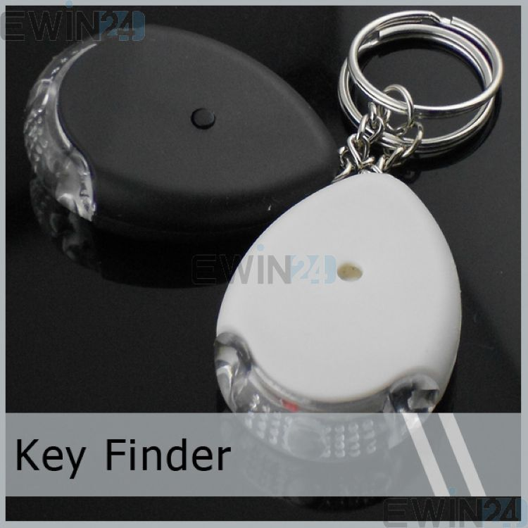 5 X Whistle Key Finder LED Key Finder Flashing & Beeping Key Chain Key Finders New Free Shipping цена
