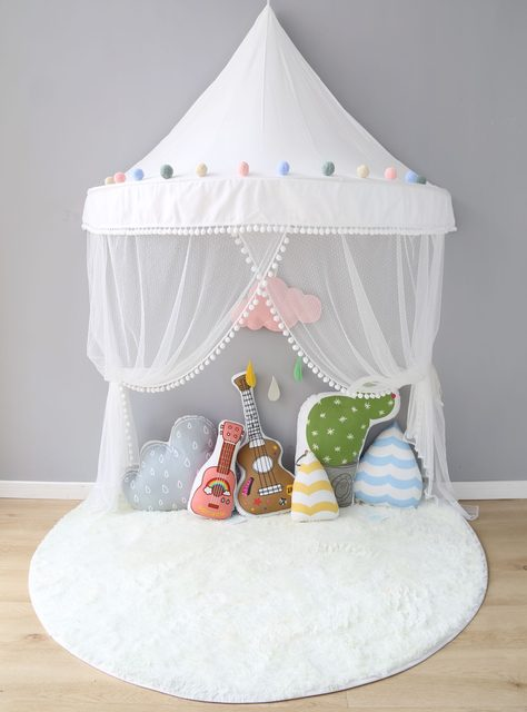 Kids Teepee Tents Children Play Room Cotton Portable Crib Tent Baby Room Decorations Birthday Gifts Boys Props for Photography & Online Shop Kids Teepee Tents Children Play Room Cotton Portable ...