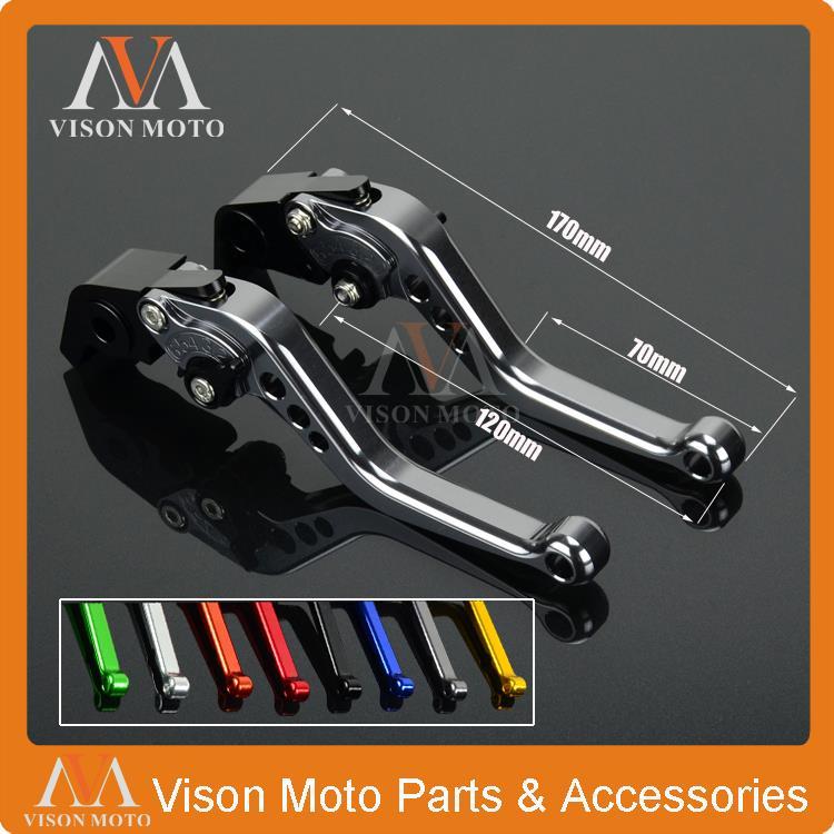 2016/Logo V-Max CNC extensible pliable R/églage de La moto leviers de frein dembrayage pour Yamaha V-Max 2009
