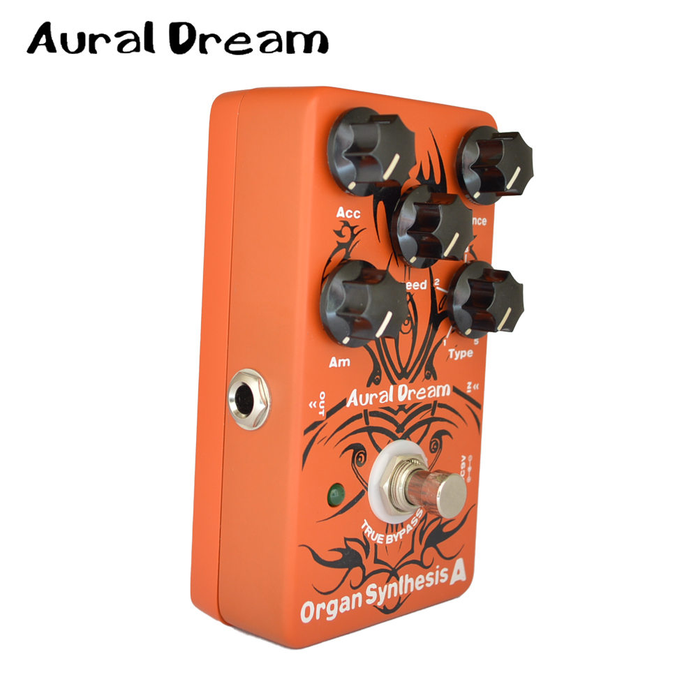 Aural Dream Organ Synthesis Digital Guitar Effects Pedal with RLS-Laguerre Transformation and True Bypass гладильная доска ника стк1