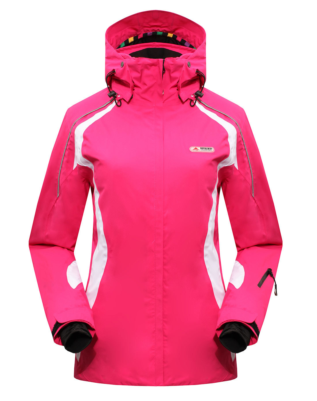 ROYALWAY Women Skiing Ski Jacket Snowboard Jacket Female Ski Clothes Waterproof Windproof Super Quality Security# RFSL4519G ...