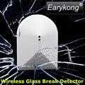 433 Mhz Sem Fio Detector De Quebra De Vidro, DC 12 V de Trabalho, Detector de vibração, para Casa Sistema de Alarme,