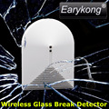 433Mhz Wireless Glass Break Detector, DC 12V Work, Vibration Detector, For Home Burglar Alarm System,