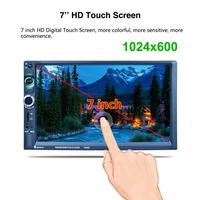 7 Inch Car Stereo Audio MP5 Player 7025D With Rear View Camera Function Support Mirror Link With Android Phones
