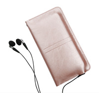 Slim Microfiber Leather Pouch Bag Phone Case Cover Wallet Purse For UHANS Note 4 Doogee X30