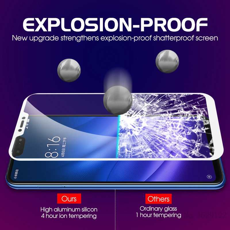 3D Full Cover Screen Protector For Xiaomi Mi 8 SE Mi A1 A2 Lite Mi 5X 6X 6 5 Mix 2 Max 3 Mi5S Mi8 Lite Mi6 Tempered Glass Film