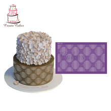 New Hollow Cake Stencil Stripes Mesh Stencils For Wedding Cake Border Stencils Fondant Mould Cake Decorating Tool Cake Mold