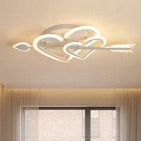 Lustre de teto para o quarto minimalismo arte decoração ferro acrílico luminaria lampadario moderno conduziu a iluminação do candelabro|Lustres| |  -
