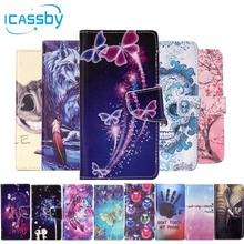 For Coque LG K7 Phone Cases Leather Wallet Flip Cover For LG K7 X210ds X210 ds Tribute 5 LS675 MS330 LG-X210ds M1 LG-K7 Bags
