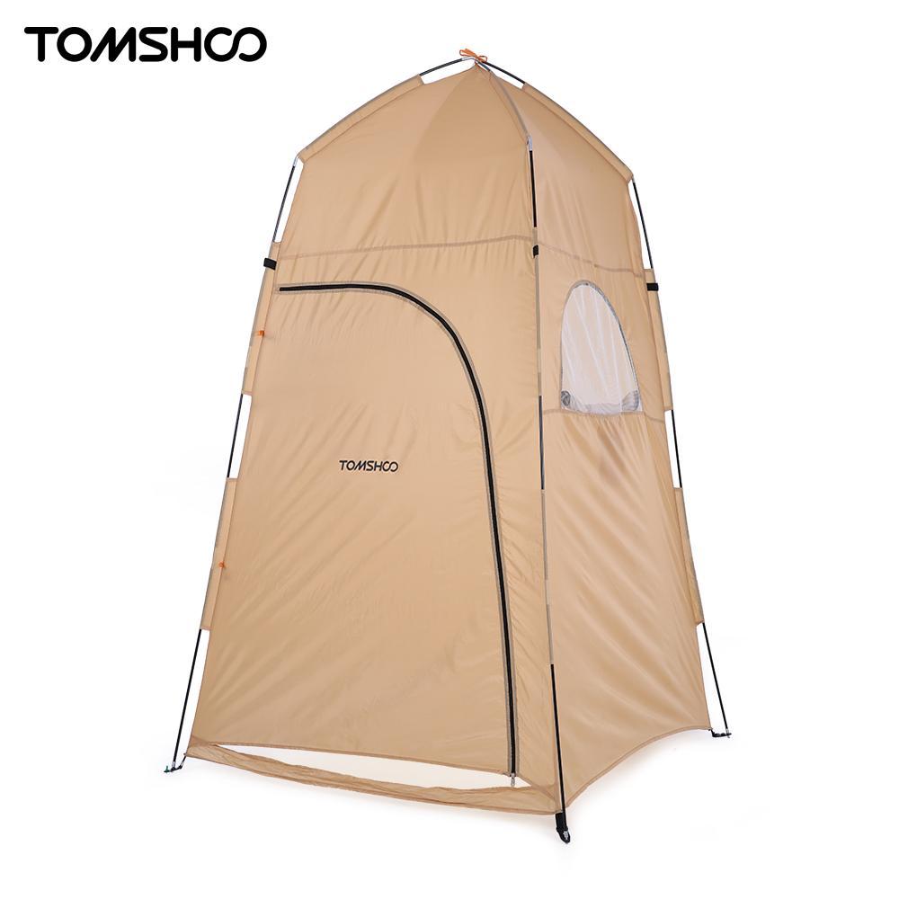 TOMSHOO 120*120*210 см открытый приют Кемпинг Душ Для ванной палатка пляж палатка Рыбалка душ Открытый Отдых душ палатка