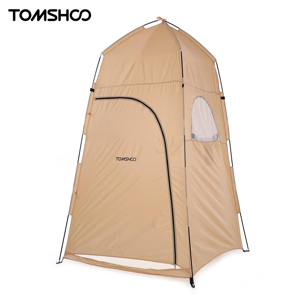 TOMSHOO 120 * 120 * 210cm Outdoor Shelter Camping Shower ...
