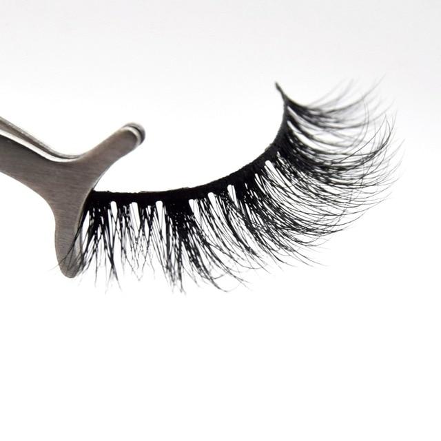 2 Pairs Visfofree Mink Eyelashes Natural False Eyelashes Fake Lashes Long Makeup 3D Mink Lashes Extension Eyelash Beauty Lashes