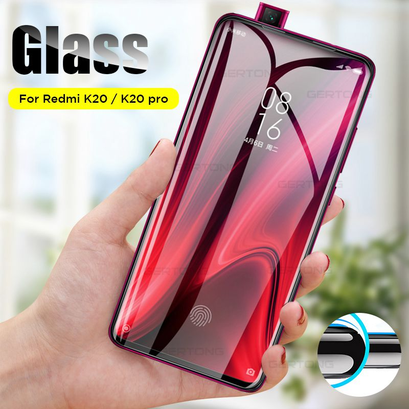 Full Curved Edge Screen Tempered Protector Glass For Xiaomi Mi 9T K 20 Pro Protective Glass On The Redmi K20 Pro K20Pro 6.39''