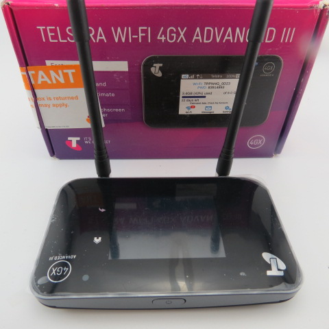 Unlocked Netgear Aircard AC810S 4G LTE Cat11 Mobile Hotspot 600Mbps WiFi Router plus antenna